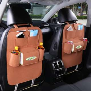 Creative Multi-functional Car Seat Rear Hanging Storage Car Carriage Bag