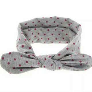 Baby Girl/Toddler Polkadot Headbands