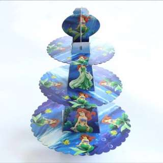 💕 Little Mermaid Ariel party supplies- cupcake stand / dessert stand / party deco/ candy bar deco
