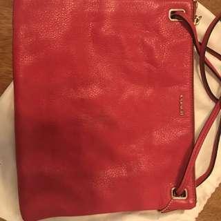 Coach 紅色袋