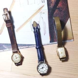 日本東京市集帶回 古物 手錶