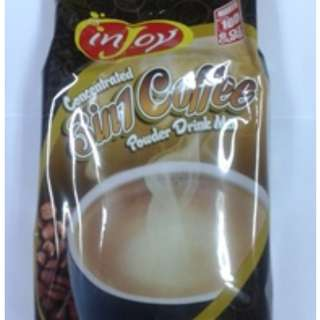 INJOY (3in1 Coffee, Brown Coffee, Cappuccino & Chocolate) 1kg