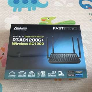 Asus Router AC1200 Brand New In Box