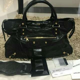 👉NEW - Authentic BALENCIAGA City Reguler #d