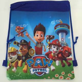 Birthday Gifts: Paw Patrol Drawstring Bag