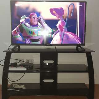 LED LCD TV stand