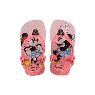 Brand New Havaianas Baby Girl Minninie Mouse Sandals Flip Flops