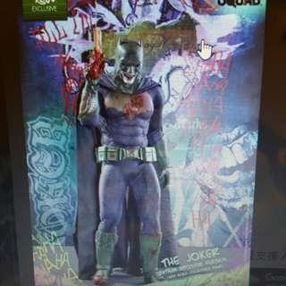 全新啡盒未開hottoys mms384 batman joker suicide squad