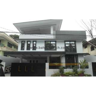 Quezon City AYALA HEIGHTS CAPITOL HILLS 8 BEDROOMS SINGLE DETACHED Mansion 618SQM with Garden Commonwealth Avenue Brand New RFO Ready For Occupancy House and Lot For Sale