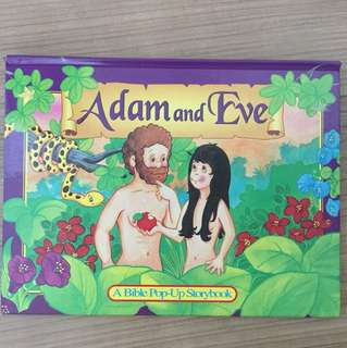 Adam and Eve Pop-Up Book