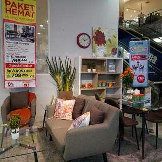 Sofa Set Bisa Cicilan Tanpa Dp