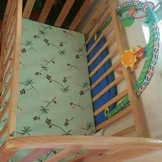 Wooden Crib Pure Palo Tsina from Mang Ben's  Furniture Shop