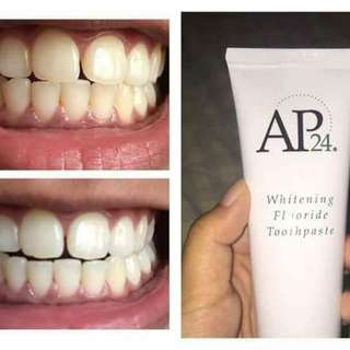Teeth whitener toothpaste