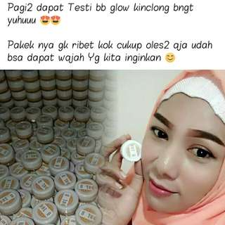 Testi💋 Glow Crystal Cream