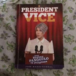 President Vice Book