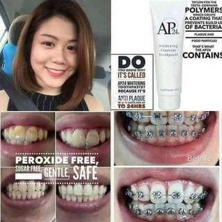 Ap24 toothpaste whitening