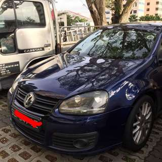 Volkswagen Golf GT 1.4A TSi  supercharge  turbo