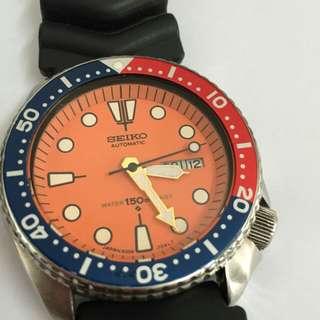 Vintage arloji seiko diver 6309 7290