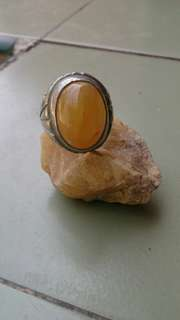 Fosil mani gajah ring&rough