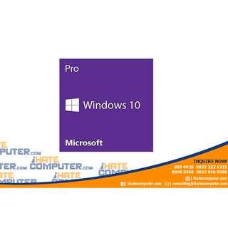 Windows 10 Professional  64bit (box and cd)