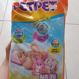 Pet Pet newborn diapers 25pcs