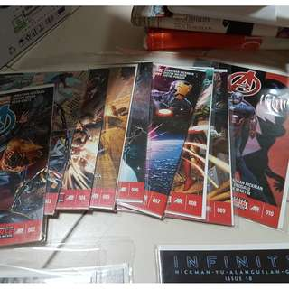 Marvel Now! Avengers 2 - 22 Single Issues with Backing Board (Price Per Issue)