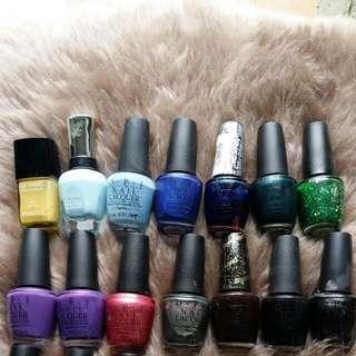 OPI/Chanel/Sally Hanson nail polish