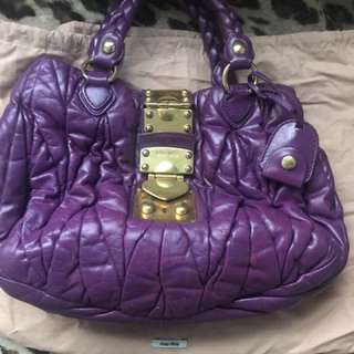 Miu miu 100% authentic 60%new