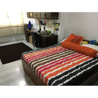 1 Master Bedroom available for three months (April, May and June) - Price inclusive of Utilities