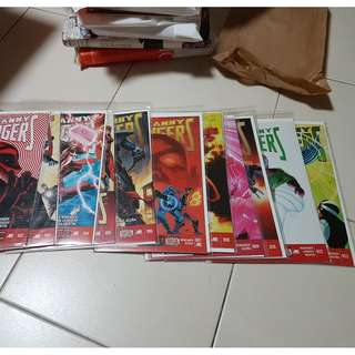 Marvel Now! Uncanny Avengers 2 - 13 Single Issues with Backing Board (Price Per Issue)