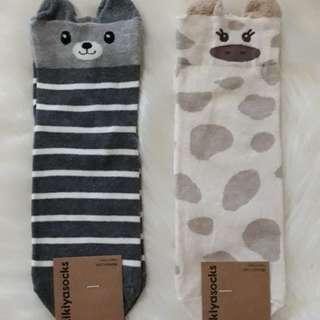Korean Socks- Animals
