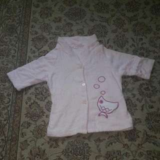 Girls Towel Bath Robe Age 3-5
