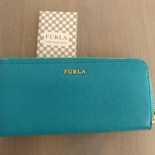 Furla long wallet 長銀包 新