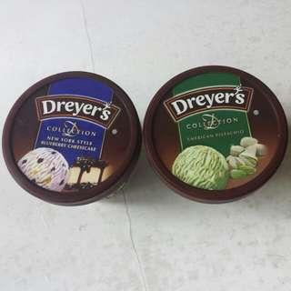 雪糕 Dreyer's D-Collection 美國開心果/紐約藍莓芝士味 Ice-cream 細杯裝 100ml