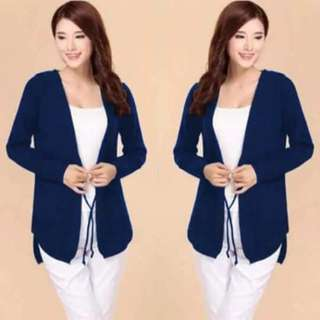 korean hoody blazer
