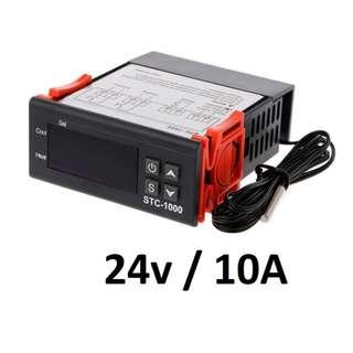 STC1000 24V Thermostat Temperature Controller Truck Freezer Incubator