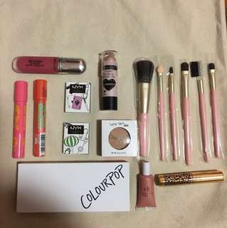 [SALE FROM $1] Makeup Sale Lipsticks Brushes Mascara Highlighter Colourpop