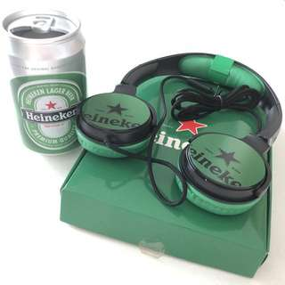 Heineken Can Speaker and Earphone