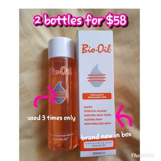 Bio Oil 200ml x 2 bottles
