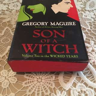 Son of a Witch by Gregrogy McGuirre