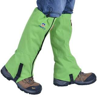 Green Leg Gaiter Cover Weather Protection