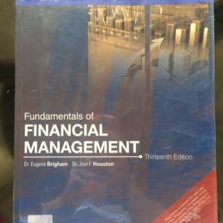 Fundamentals of Financial Management by Brigham & Houston