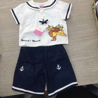 Brand new baby sailor suit