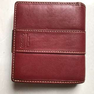 Used, authentic COACH Wallet
