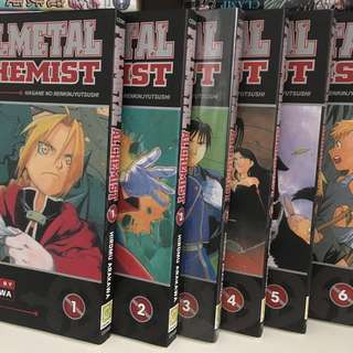 Fullmetal Alchemist 1-21 (English)