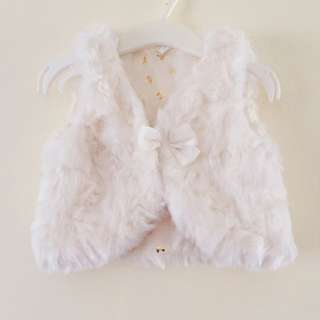 H&M Baby Girl Cute Ribbon Vest