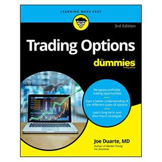 Trading Options For Dummies (For Dummies (Business & Personal Finance)) BY Joe Duarte