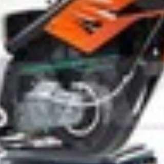 Scrambler Bike Side Case Cover