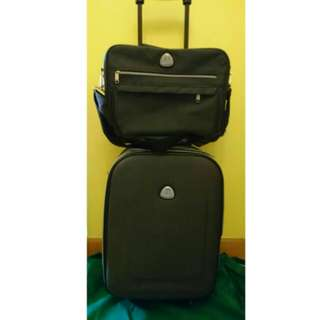 """💼21"""" luggage with briefcase"""