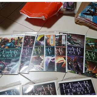 Marvel - Fear Itself - Single Issues, One-Shots and Sets with Backing Boards (Price Per Issue)
